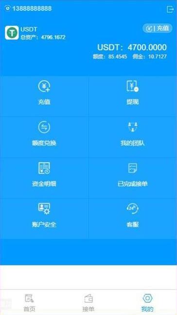 【USDT虚拟货币】金融理财接单返利程序源码[无加密授权]-找主题源码