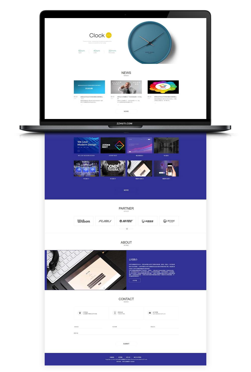 【织梦视觉设计企业模板】html5响应式网站互联网视觉传达设计类dedecms自适应手机端网站源码-找主题源码