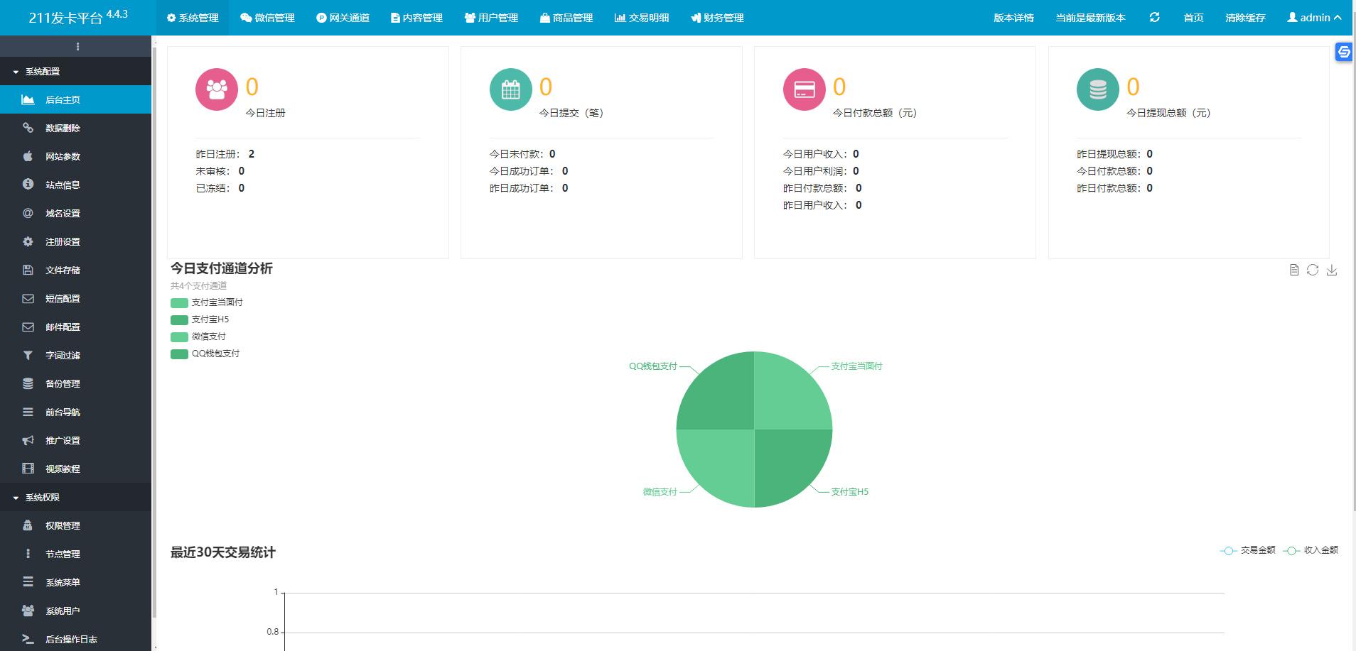 【PHP发卡系统】API代理营销版自动发卡平台系统程序源码4.4.3版开心版-找主题源码