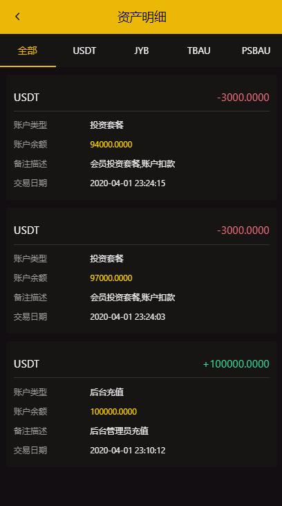 【CAGI虚拟币】理财H5网站区块链投资分红源码-找主题源码